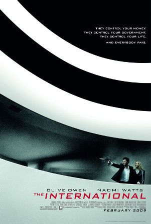 The International, from Sony Pictures, opens on February 13th, 2009.