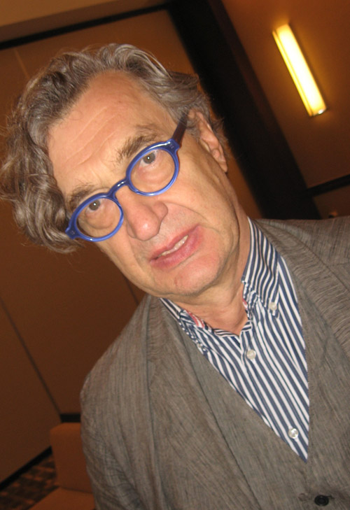 Director Wim Wenders in Chicago