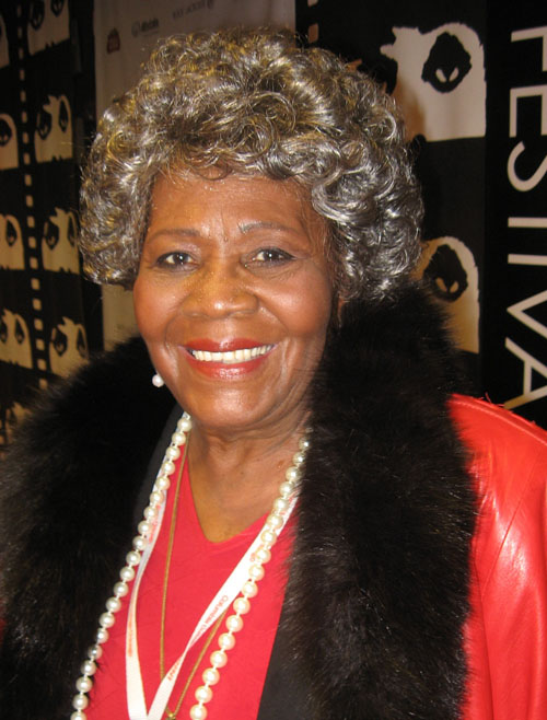 Chicago Actress Irma P. Hall at the Chicago International Film Festival, October 14, 2009.