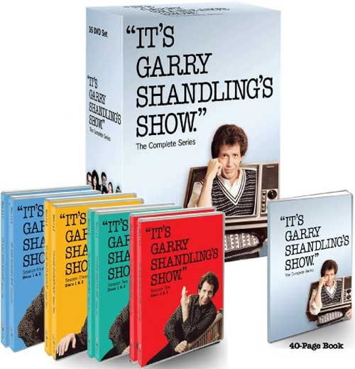 It's Garry Shandling's Show: The Complete Series was released on DVD on October 20th, 2009.