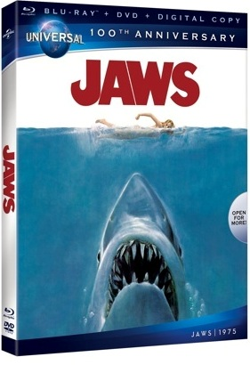 Jaws will be released on Blu-ray on August 14, 2012