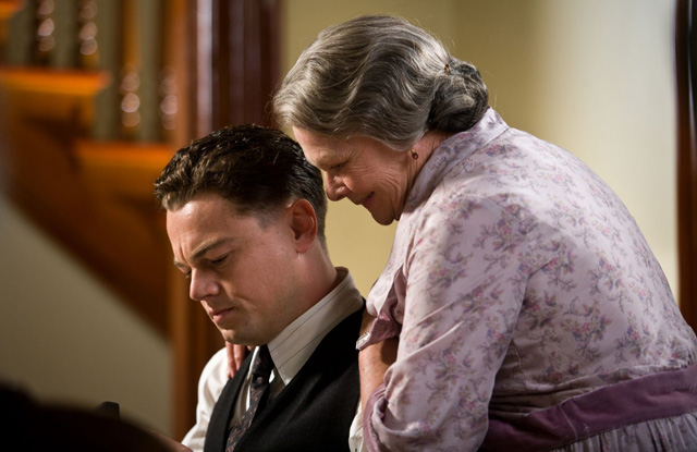 Dear Old Mom: Leonardo DiCaprio and Judi Dench in 'J. Edgar'