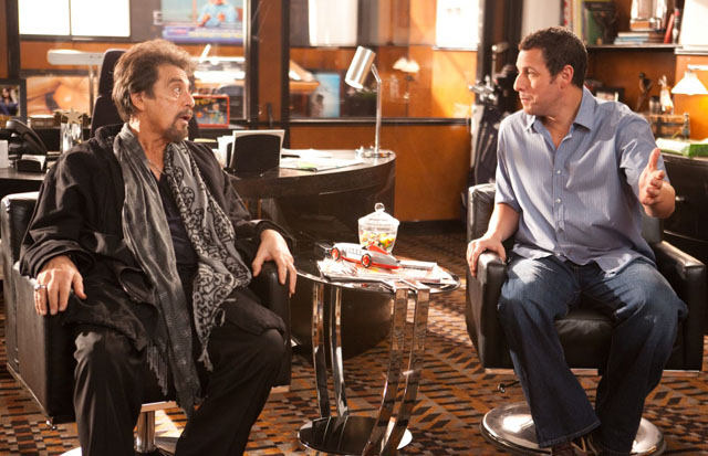 Hoo-Ha?: Al Pacino and Adam Sandler in 'Jack and Jill'