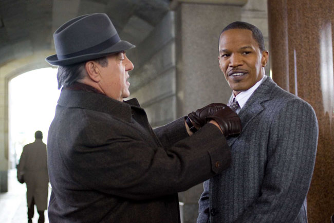 Bruce McGill and Jamie Fox in 'Law Abiding Citizen'