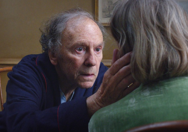 Jean-Louis Trintignant and Emmanuelle Riva star in Michael Haneke's Amour, the Palme d'Or winner at the 2012 Cannes Film Festival.