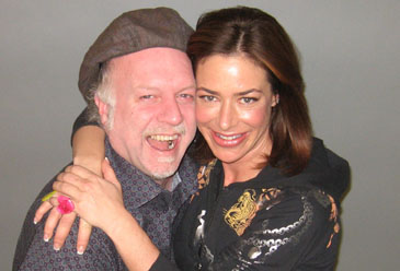 Patrick McDonald and Claudia Wells, February 24th, 2010