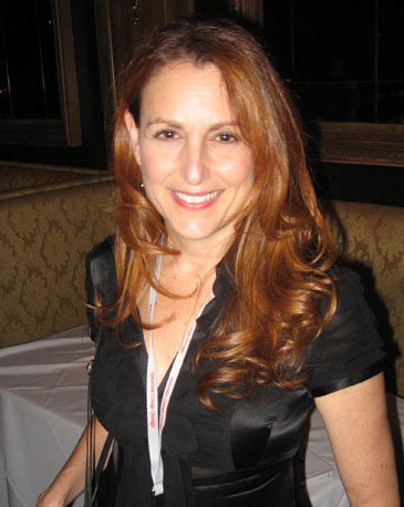Jodie Markell at the Chicago International Film Festival Awards Ceremony, October 17, 2009.