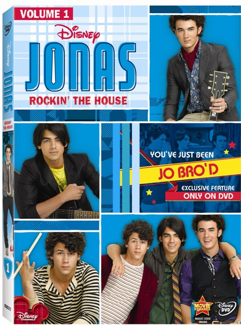 Jonas Rockin' The House was released on DVD on September 22nd, 2009.