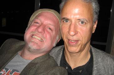 Patrick McDonald and Steven A. Jones at the BMAs