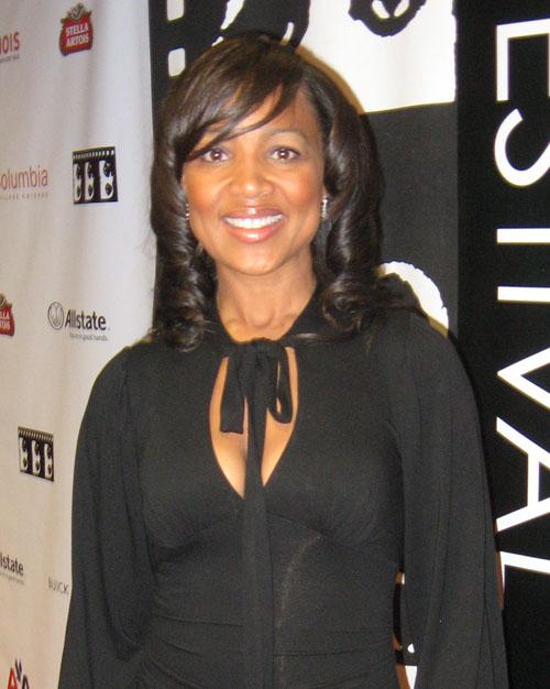 Jossie Thacker at the Chicago International Film Festival, October 14, 2009.