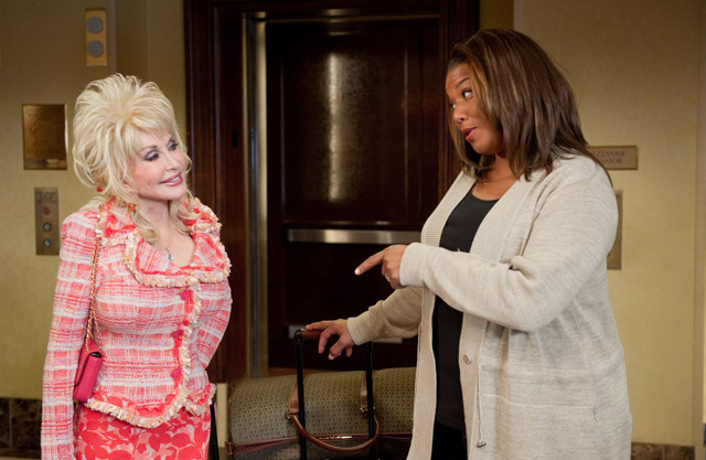 Dolly Parton (G.G.) Gets the Point from Queen Latifah (Vi Rose) in 'Joyful Noise'