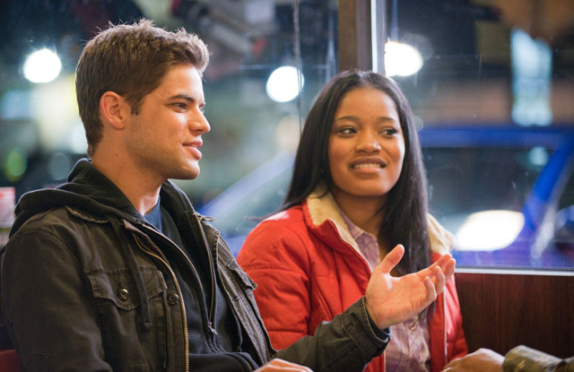 Gospel Lovers: Jeremy Jordan (Randy) and Keke Palmer (Olivia) in 'Joyful Noise'