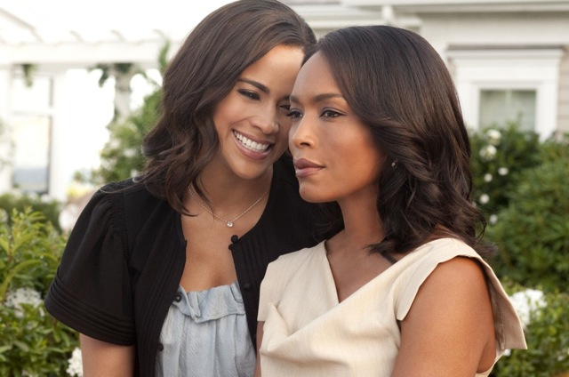 Paula Patton and Angela Bassett star in Salim Akil's Jumping the Broom.
