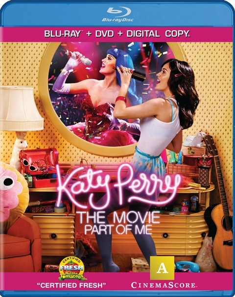 Katy Perry: Part of Me was released on Blu-ray and DVD on September 18, 2012