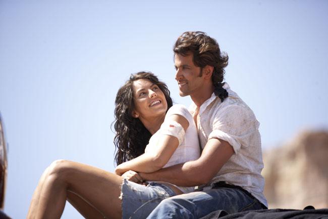 Let Us Be Lovers: Bábara Mori as Natasha and Hrithik Roshan as Jay in 'Kites'