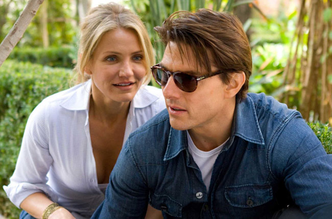 Risky Business: Cameron Diaz as June and Tom Cruise as Agent Roy Miller in 'Knight and Day'