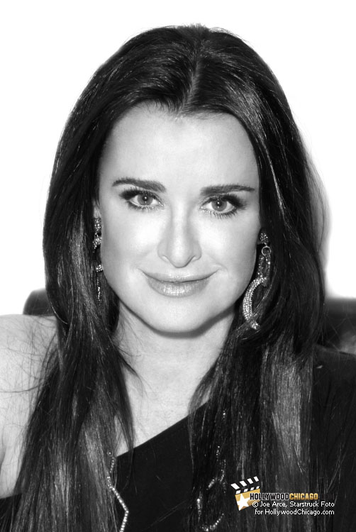Kyle Richards at Macy's 'Fashion's Night Out,' Chicago, September 8th, 2011
