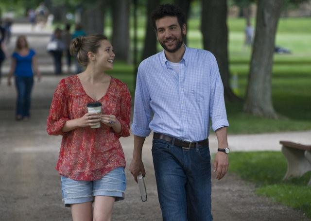 Elizabeth Olsen and Josh Radnor star in Radnor's Liberal Arts.