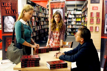 LIE TO ME: Erika Christensen (L) guest-stars as a witness to a murder in the LIE TO ME Season Two premiere episode