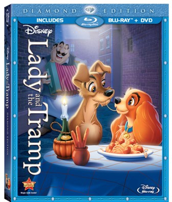 Lady and the Tramp was released on Blu-ray and re-released on DVD on February 7, 2012