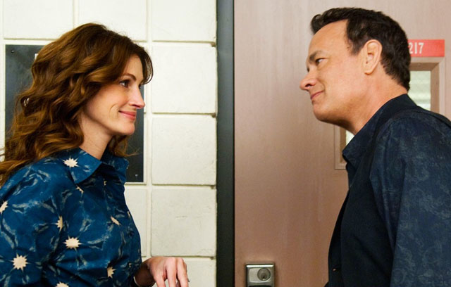 To Her With Love: Julia Roberts (Mrs. Taino) and Tom Hanks as the Title Character 'Larry Crowne'