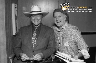 Larry Hagman and Patrick McDonald, October 17, 2009