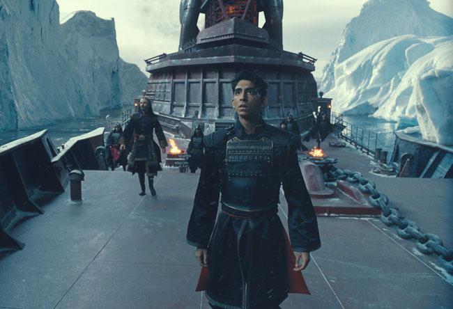 Princely Ties: Dev Patel as Prince Zuko in 'The Last Airbender'