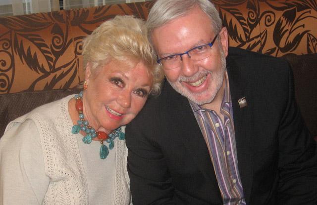 Leonard Maltin, Mitzi Gaynor