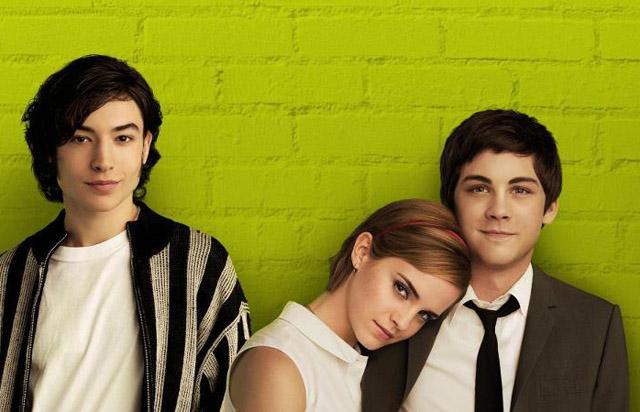 Ezra Miller, Emma Watson, Logan Lerman
