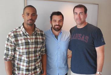 Damon Wayans Jr., Jake Johnson, Rob Riggle