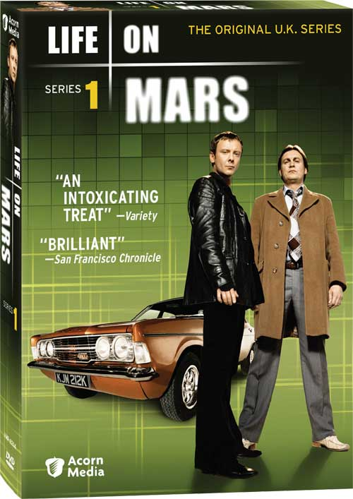 Life on Mars will be released on DVD on July 28th, 2009.
