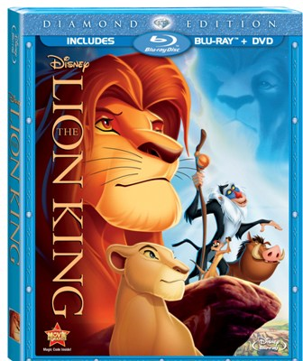 The Lion King was released on Blu-ray on October 4th, 2011