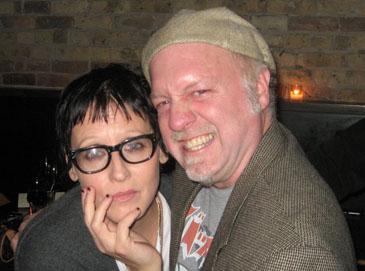Lori Petty and Patrick McDonald at the BMAs.