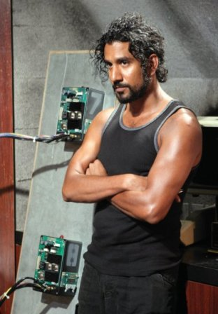 Naveen Andrews. Lost: The Complete Fourth Season is available on DVD December 9, 2008.