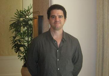 Director Aaron Schneider in Chicago, July 23, 2010