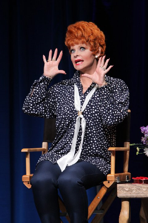 "Suzanne LaRusch stars in ""An Evening with Lucille Ball"""