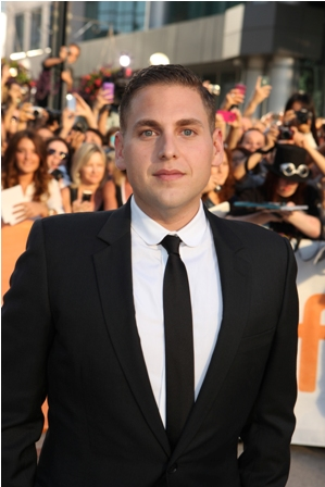 Jonah Hill at the Toronto Moneyball Premiere