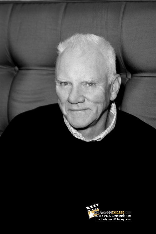 Malcolm McDowell at the Flashback Weekend, August 12, 2011