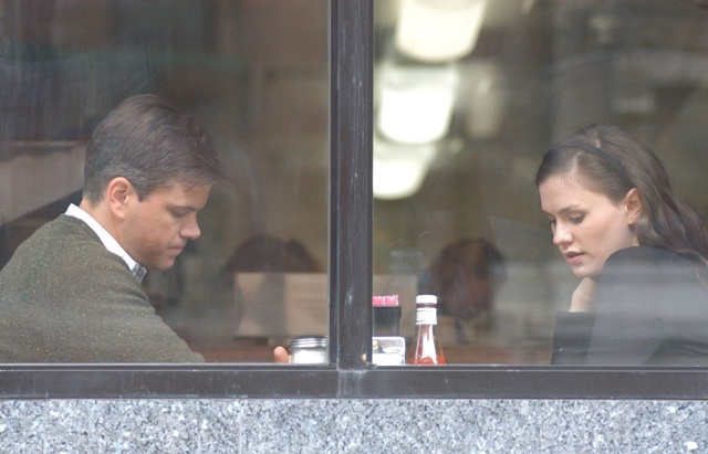 Through a Glass: Matt Damon as Mr. Aaron and Anna Paquin in  'Margaret'