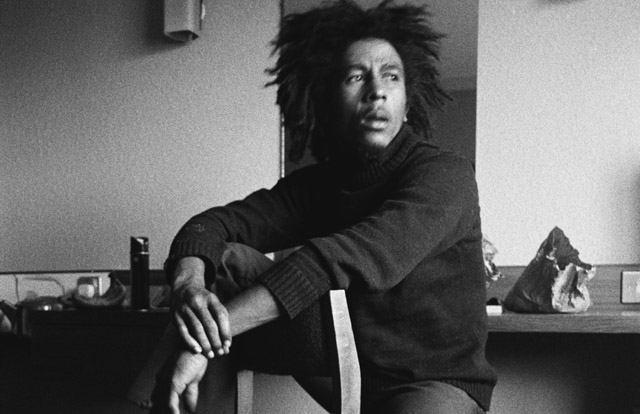 The Mythic Bob Marley in an Archival Photo for 'Marley'