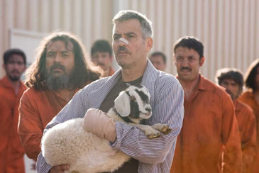 Soulmates: George Clooney in 'The Men Who Stare at Goats'