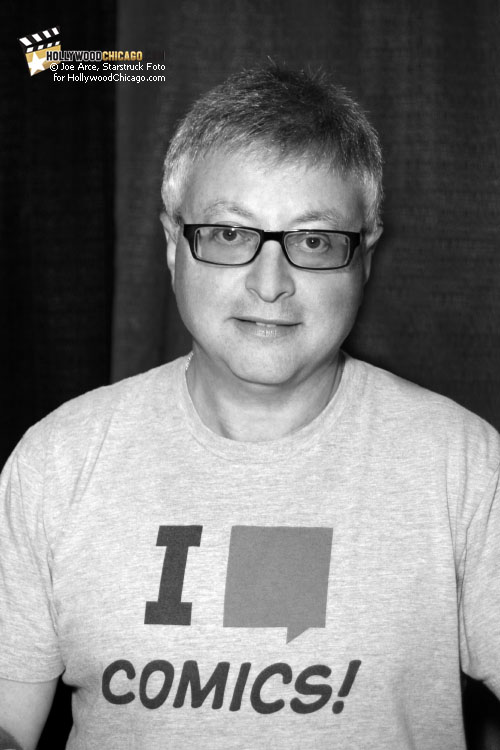 Michael Uslan at the Chicago Comic Con, August 14, 2011