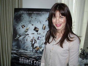 Michelle Monaghan in Chicago, March 15, 2011