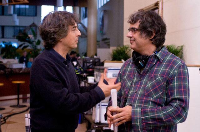 Masterminds: Producer Alexander Payne and Director Miguel Arteta of 'Cedar Rapids'