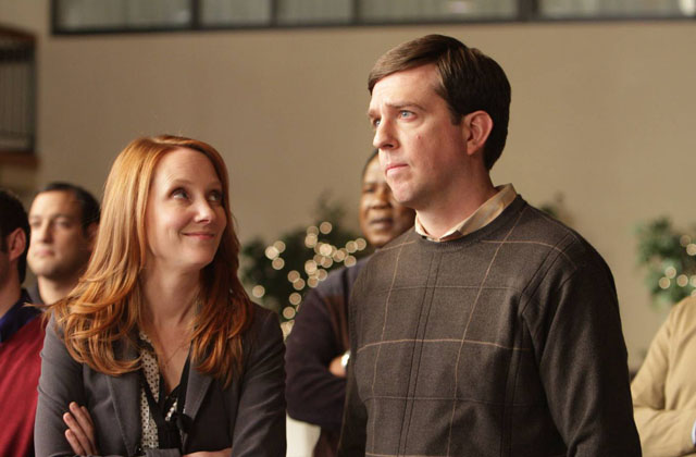 Stanwyckian: Anne Heche and Ed Helms of 'Cedar Rapids'