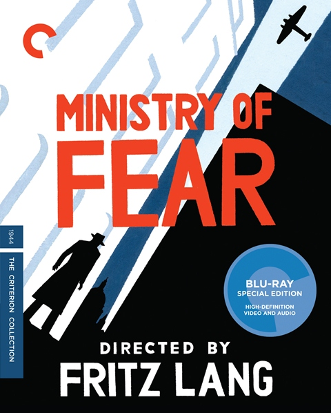 Ministry of Fear was released on Criterion Blu-ray and DVD on March 12, 2013