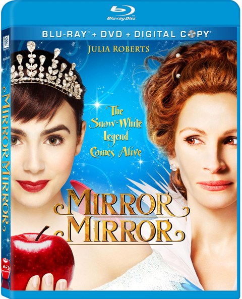 Mirror Mirror was released on Blu-ray and DVD on June 26, 2012