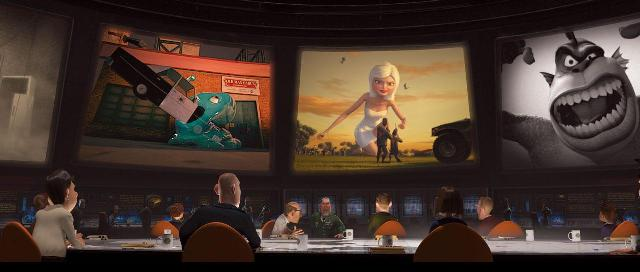 Monsters vs. Aliens opens on March 27th, 2009 from DreamWorks Animation.