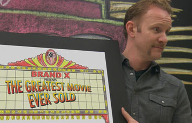 The Pitch: Morgan Spurlock Throws Down in 'The Greatest Movie Ever Sold'