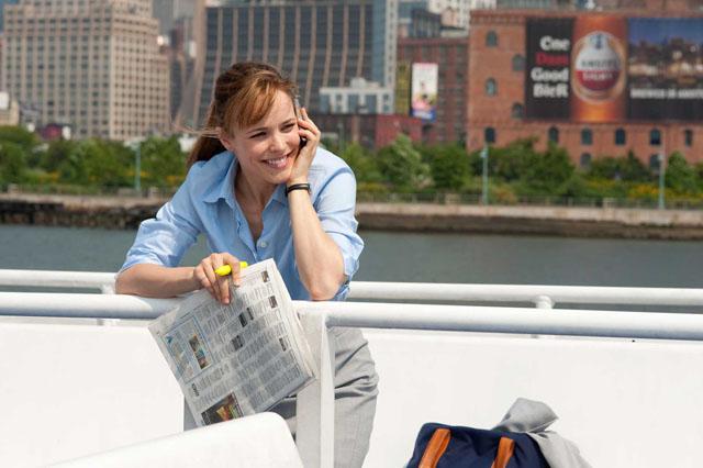 Dreamer: Rachel McAdams in 'Morning Glory'